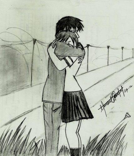 Love Drawing Hug