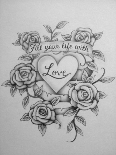 Love Drawing In Pencil