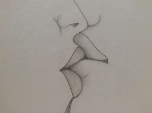 Love Drawing Kiss