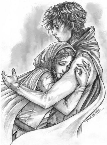 Love Emotional Drawing
