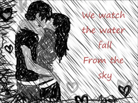 Love Rain Drawing