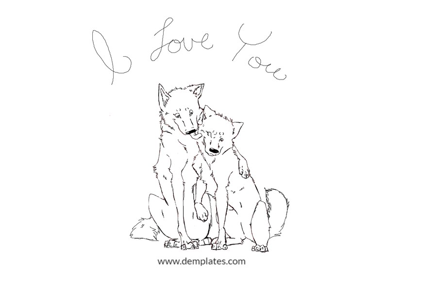Role of wolf in love drawing - 5_2