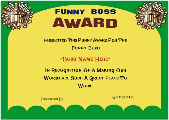 funny certificates for work - Acur.lunamedia.co