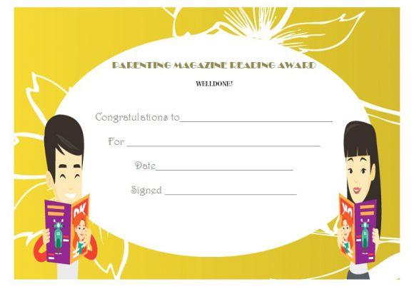 Parenting magazine reading magic award