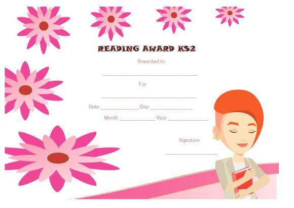 Reading award ks2