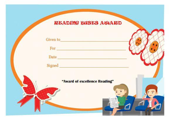 Reading buses award