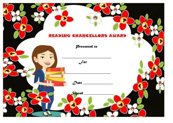 Reading chancellors award