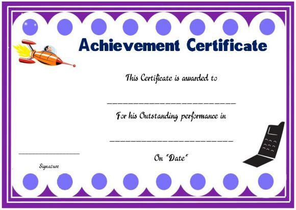 Science achievement award