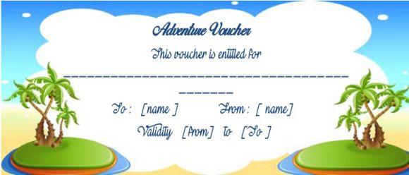 Tour voucher templates