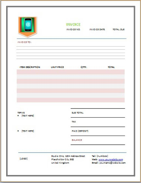 CellPhone Repair Invoice Companies