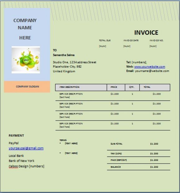 CellPhone Repair Invoice Company
