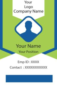 ID Card fifteen Front