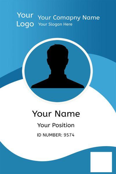 id card template 25 professional id card templates demplates