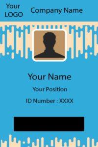 ID Card three Front