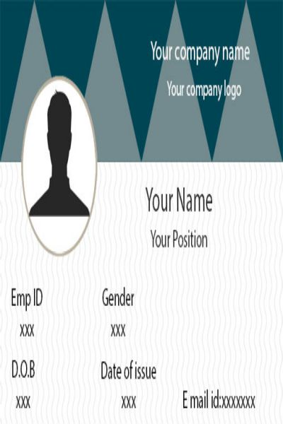 ID Card twenty Front
