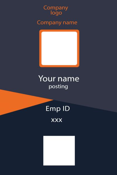 ID Card twentyfive Front