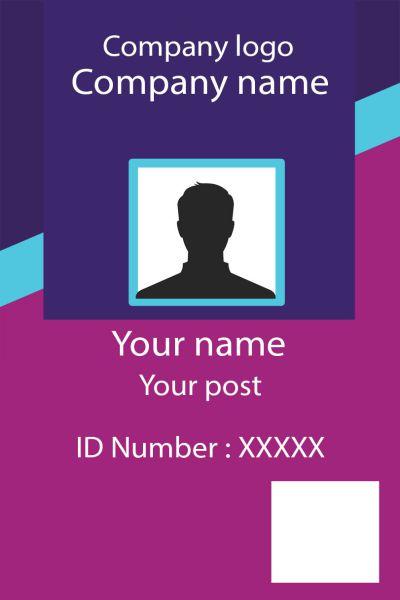 ID Card twentyone Front