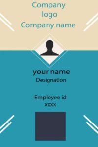 ID Card twentythree Front