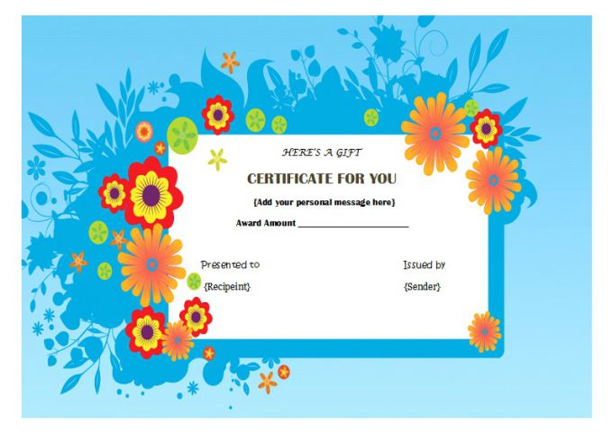 Top 10 specialized manicure gift certificate templates demplates manicure gift cards yelopaper Image collections