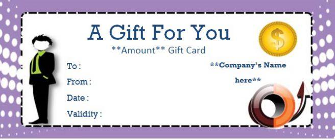 Business Gift Certificate Maker