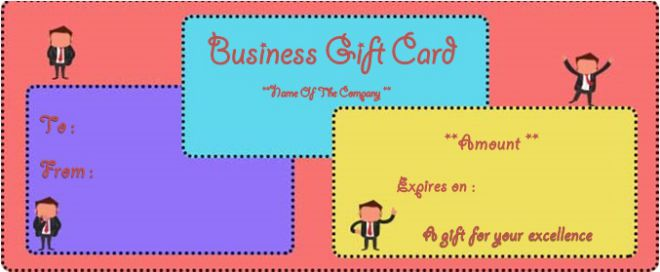 Business Gift Certificate Template Word