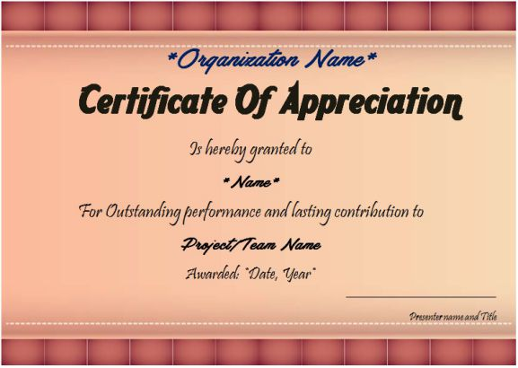 business thank you certificate
