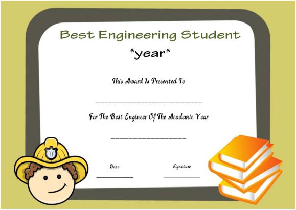 engineering student of the year award