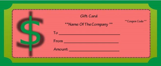 Free Business Gift Certificate Template Word