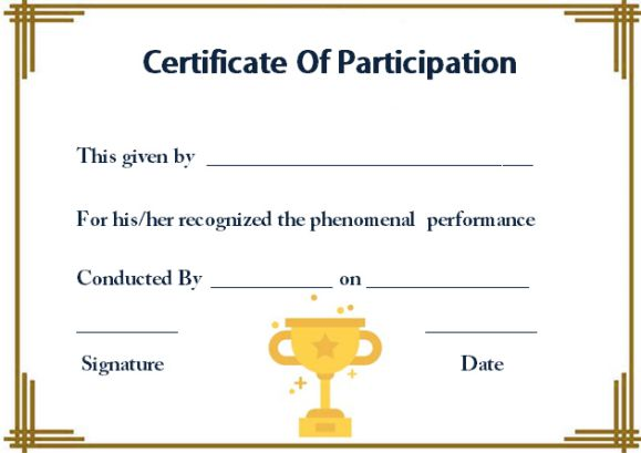 certificate of participation in workshop template 10