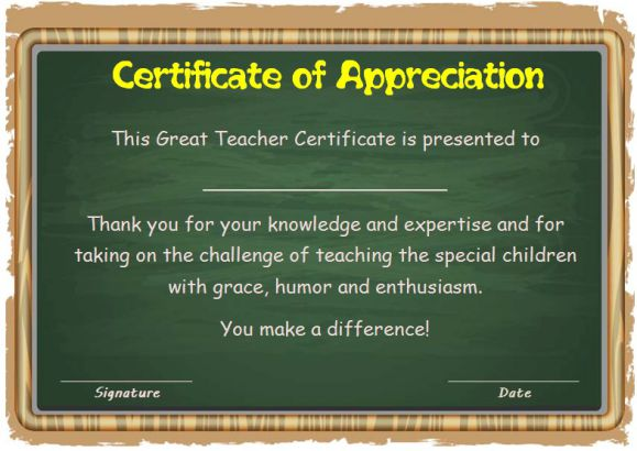 Thank You Certificate Template 25 Templates For Free