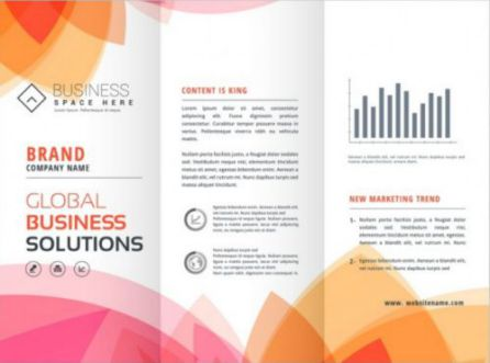 Modern Brochure Free Vector