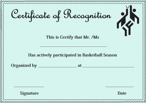 certificate of appreciation template navy