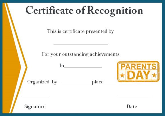 Fillable certificate of appreciation new sample certificate benefits of giving certificate of recognition template for parents yadclub Gallery