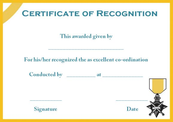 certificate of recognition template boy scouts