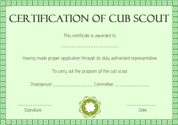 girl scout award certificate templates - scout certificates template 12 free printables in word