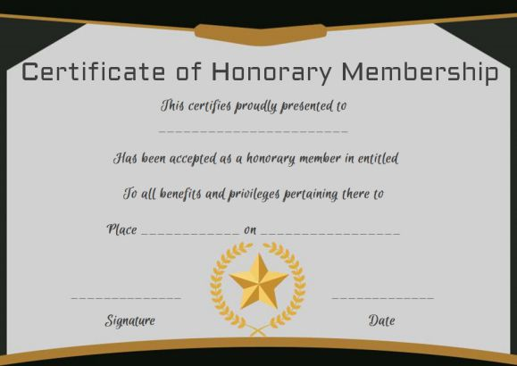 life membership certificate templates - free membership certificates 14 templates in word format