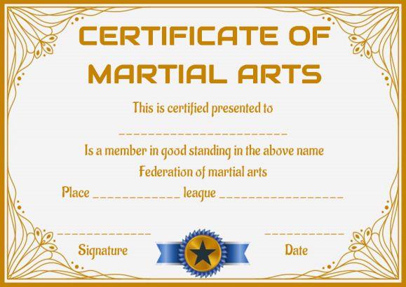 Lifetime Membership Certificate Template