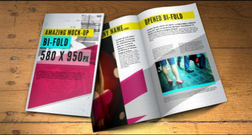 psd Brochure Mockup