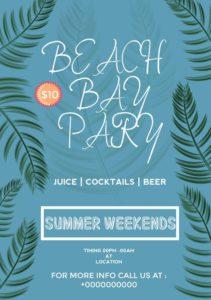Beach Bay Party