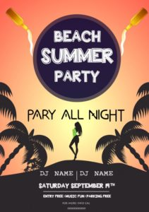 Beach Summer Party