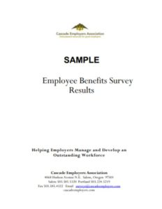 Employee Benefits Survey Results
