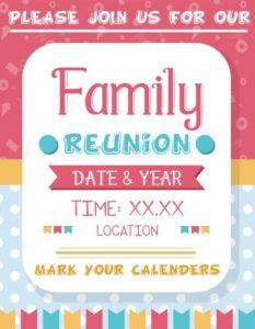 Family Reunion Template
