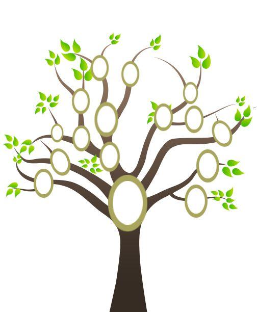 Family Tree Templates 12 Free Printable Blank Templates Demplates