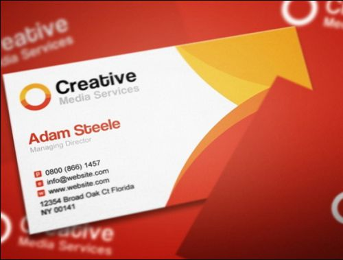 Free Indesign Business Card Template