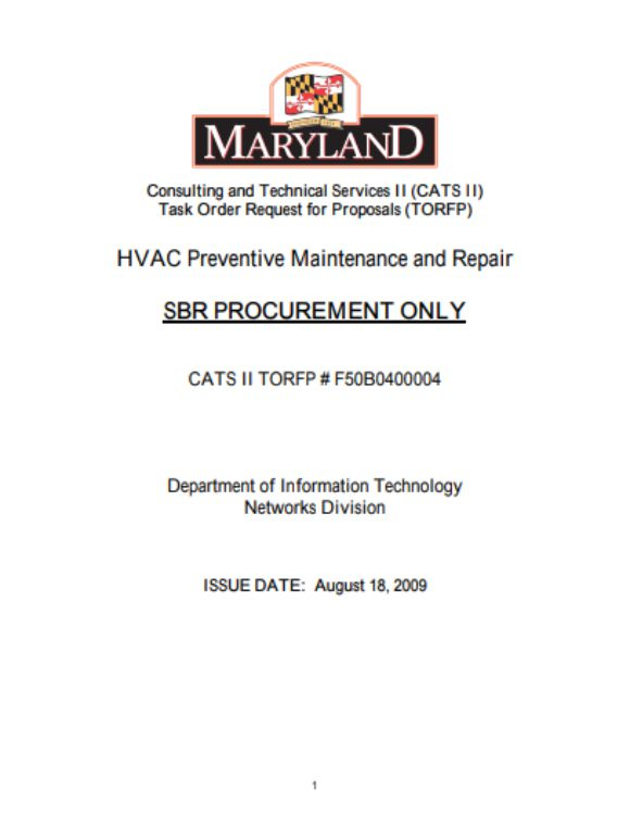 HVAC Preventive Maintenance and Repair