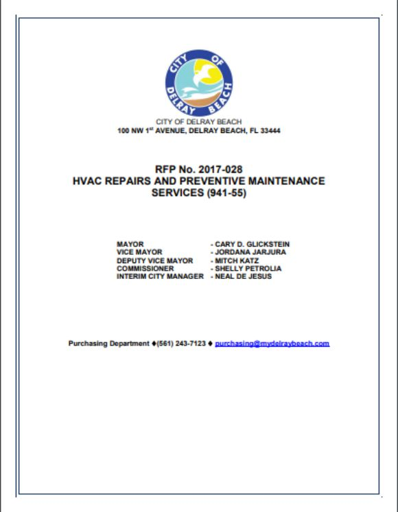HVAC Repair and PM Services Complete