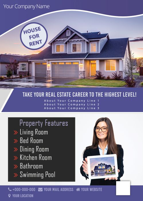 House For Rent Property Features