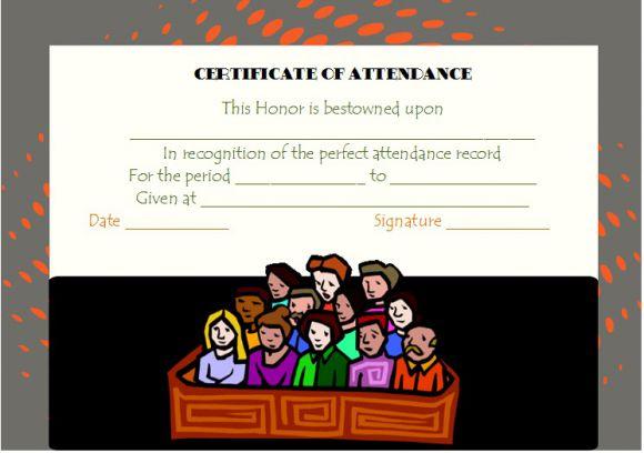 Jury Duty Certificate for Attendance