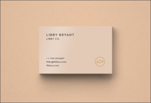 Libbyco Business Card