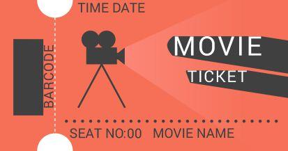 Movie Ticket Stub Template